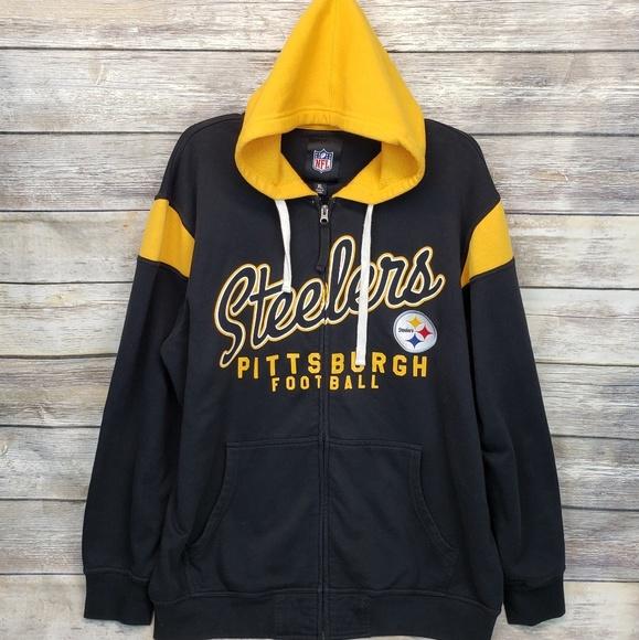 quality design 94223 69950 Pittsburgh Steelers Men's Hoodie
